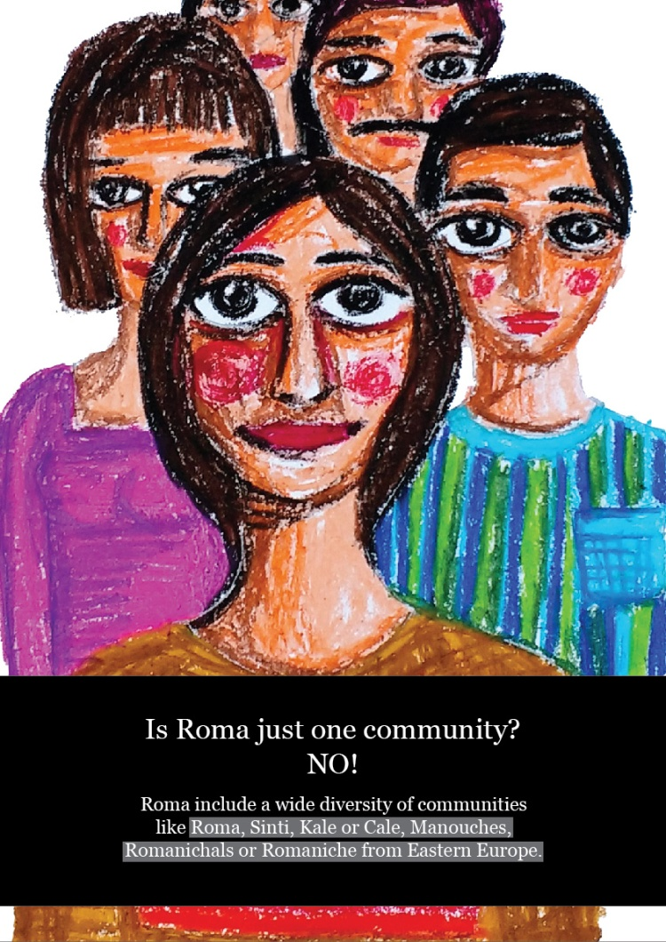 Roma not just one community space -01